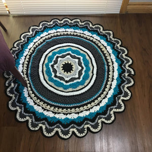 Area rug or throw