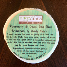 All Natural / Handcrafted / Artisanal / Cold Processed Soap: SHAMPOO & BODY PUCKS (VARIOUS)