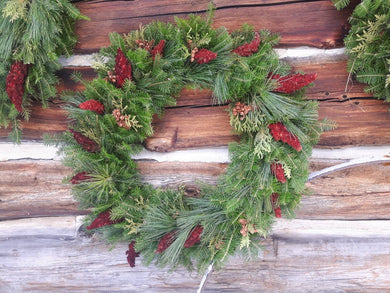 Natural Balsam Fir Wreath