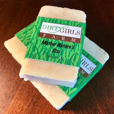 All Natural / Handcrafted / Artisan / Cold Processed Soap: MOTHER NATURE'S KISS