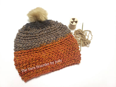 Orange Slouchy Hat