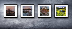 In relation to the land - a set of 4 HIGH RESOLUTION JPEG FILES for DIY printable artwork for $16.00 (individual files at $5 each)