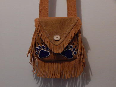 Bear Paw Shoulder Bag.