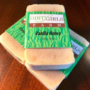 All Natural / Handcrafted / Artisanal / Cold Processed Soap: VANILLA HONEY