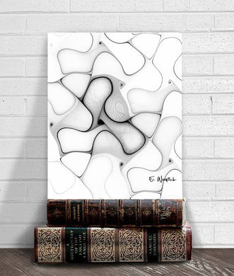 Uncompromising abstract art print