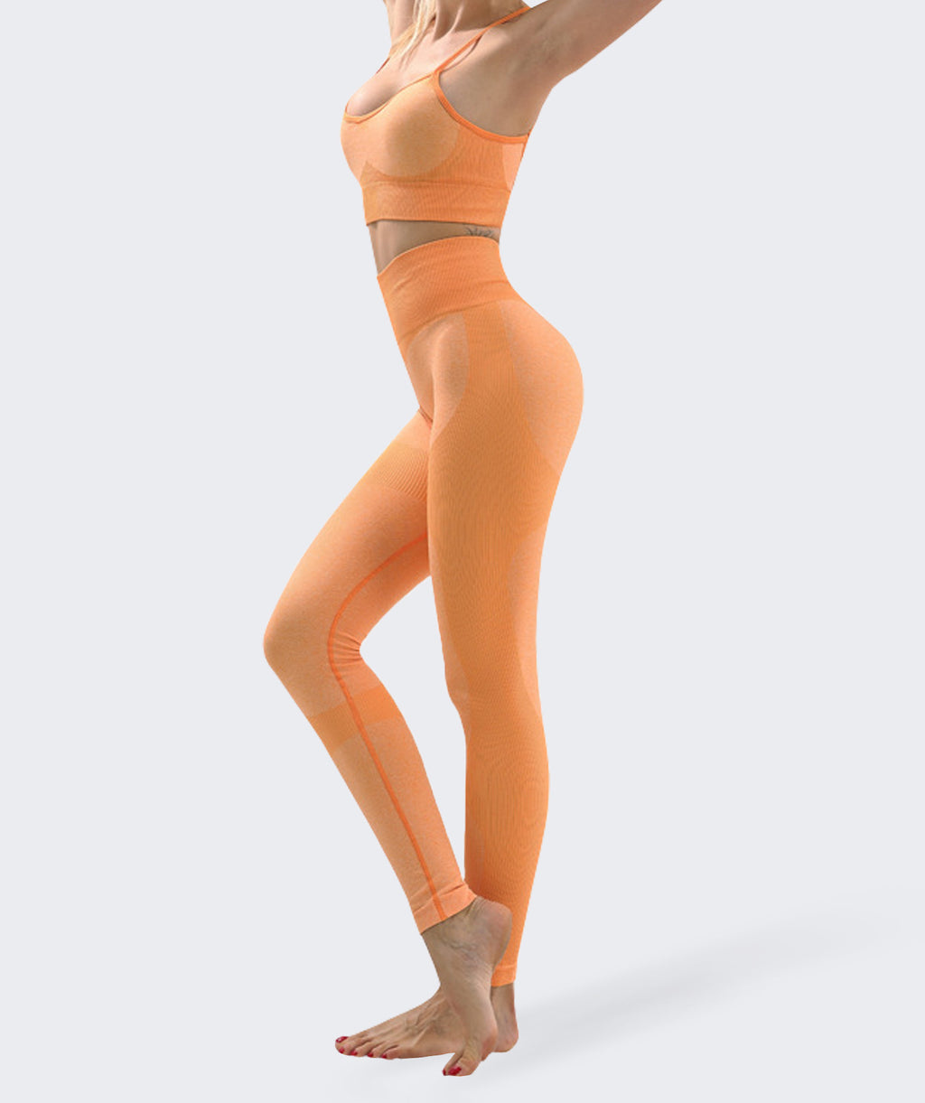Flair Orange Fitness Set