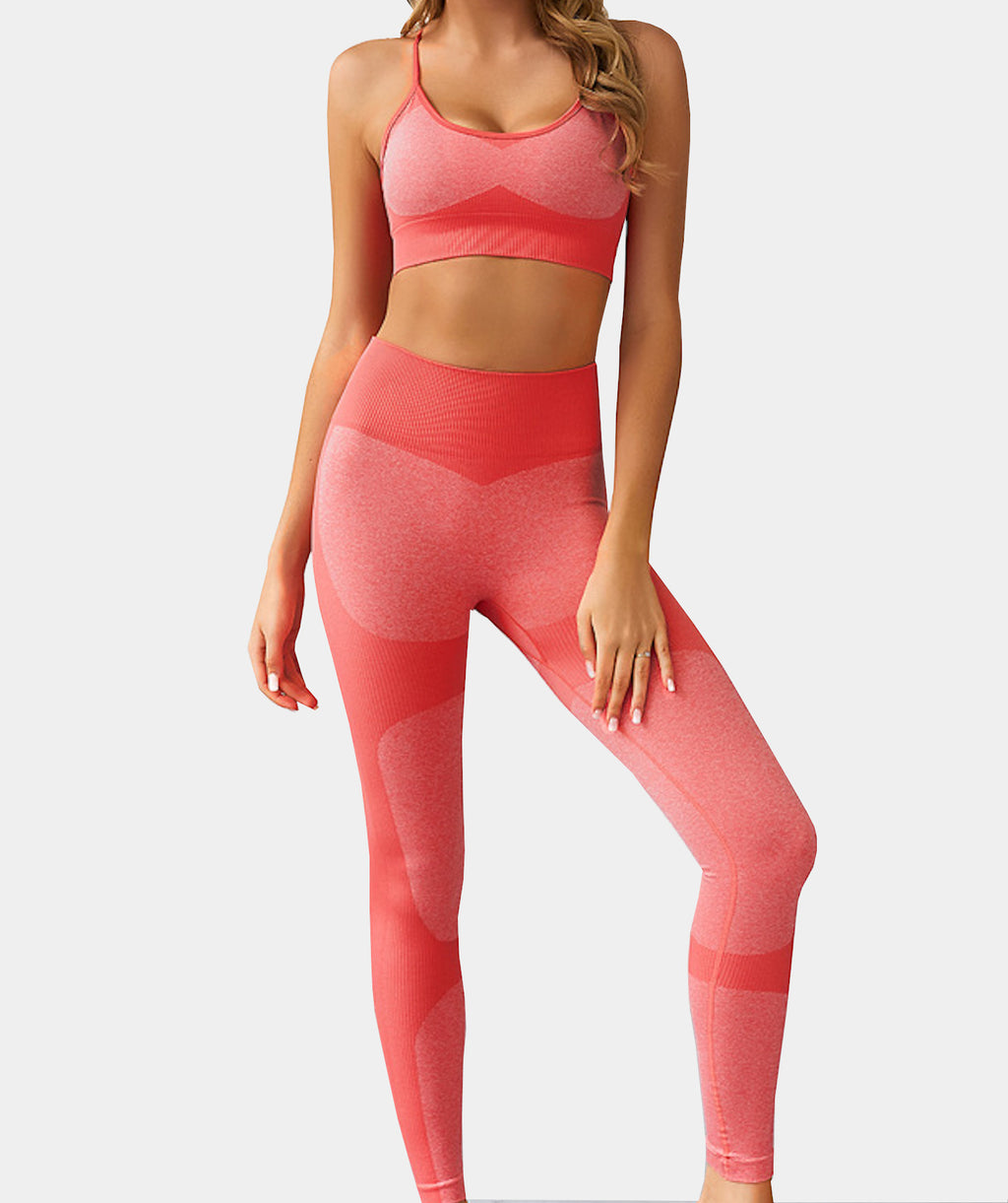 Flair Red Fitness Set