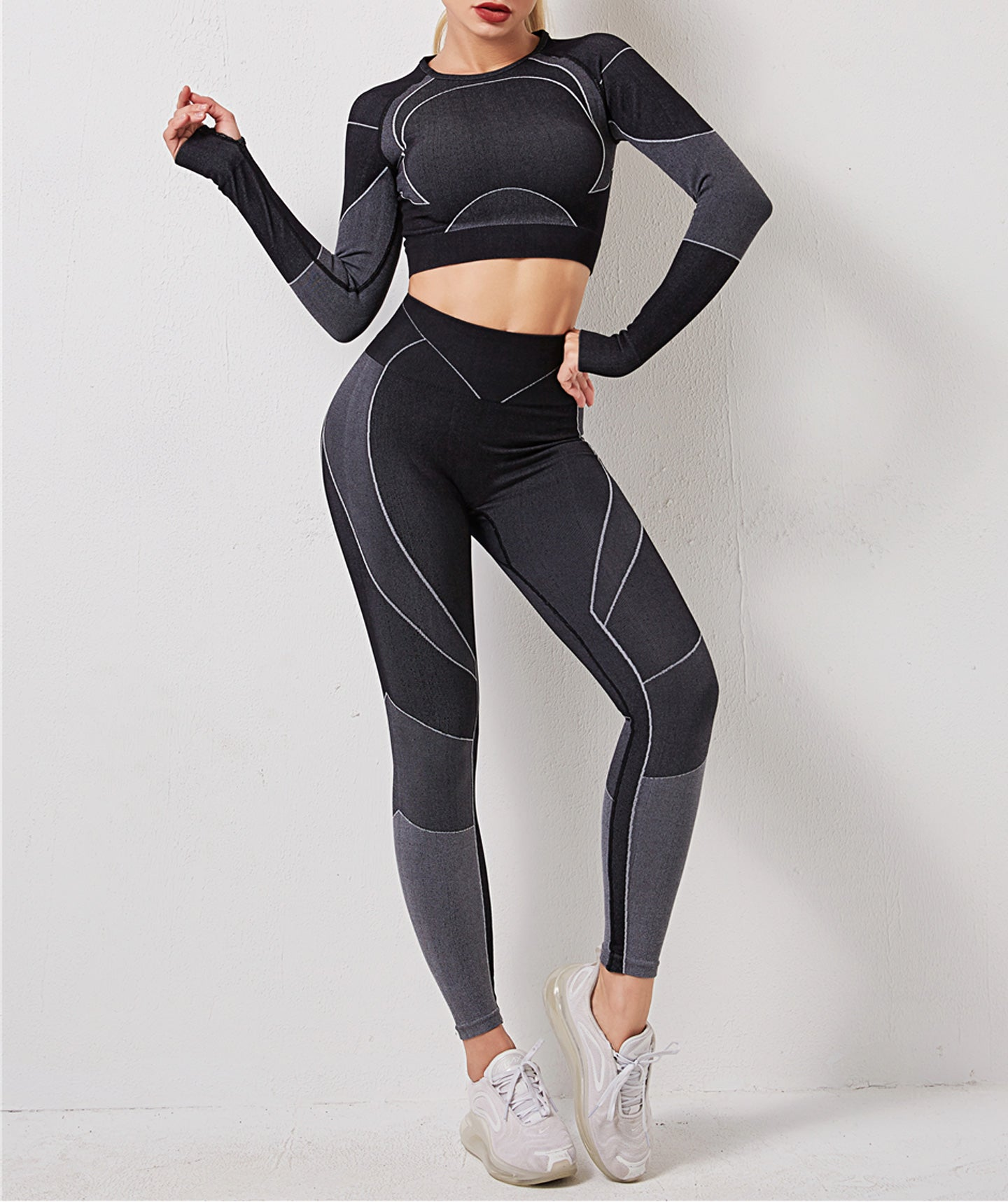 React Black Fitness Set
