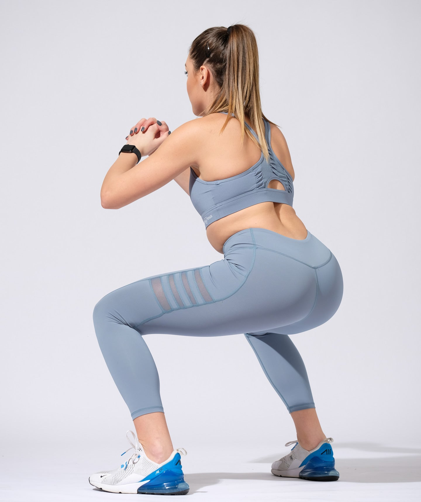 Set Fitness React Blue