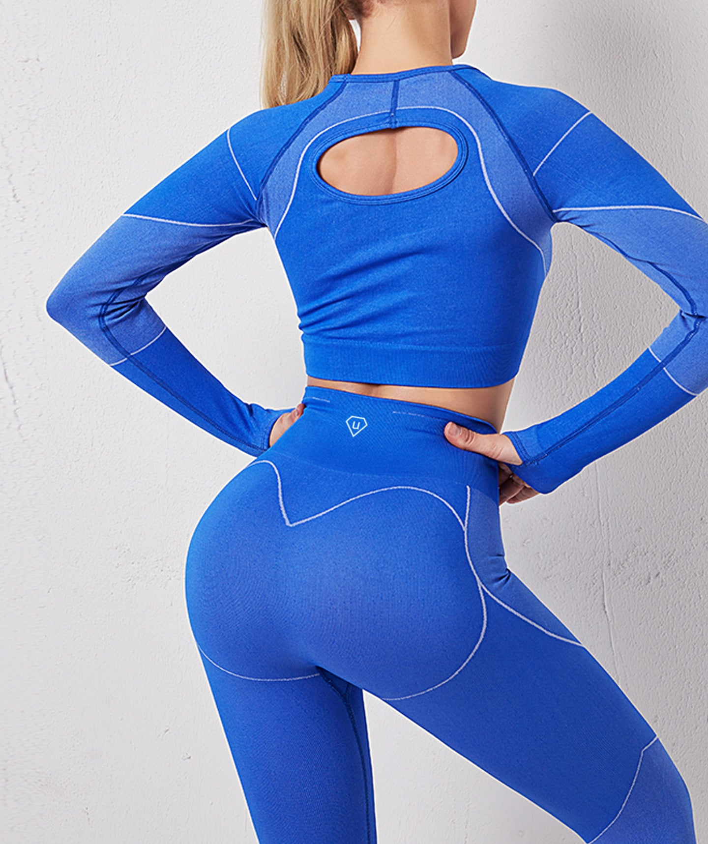 React Fitness Set Blue