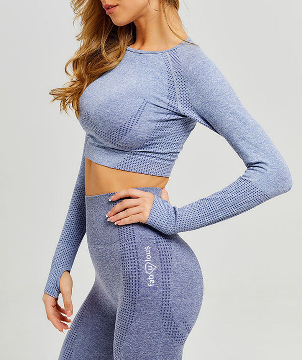 Contour Grey Fitness Set