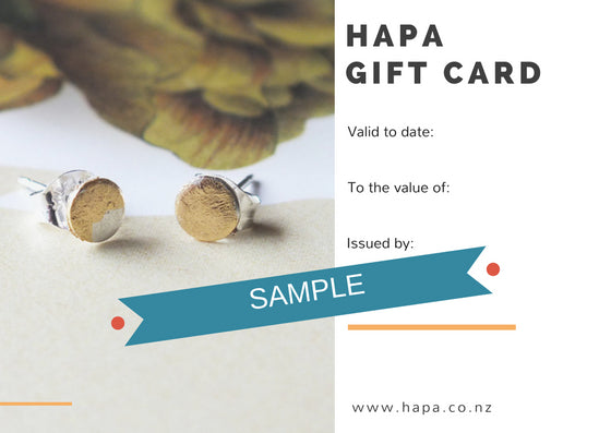 HAPA GIFT CARD (sent by courier)