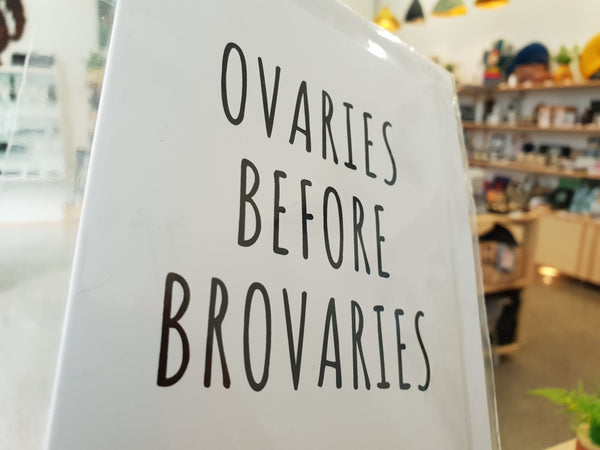 Card - Ovaries Before Brovaries
