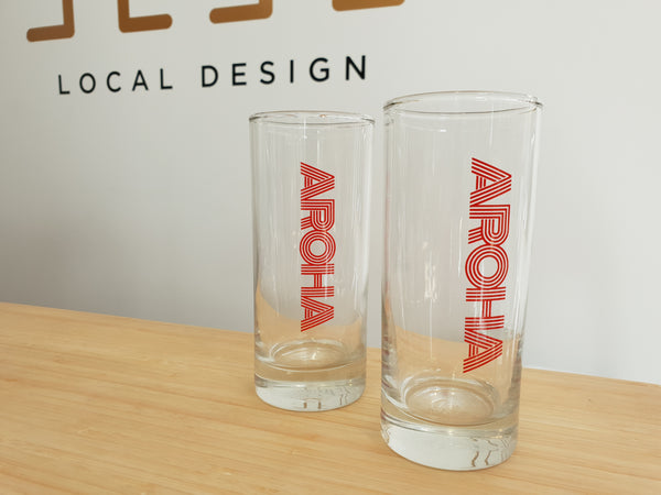 AROHA hiball glass