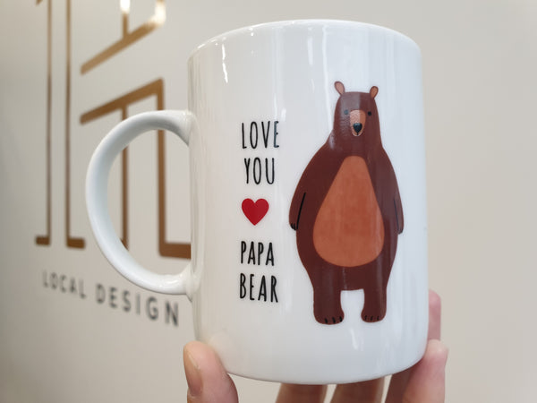LOVE YOU PAPA BEAR Mug
