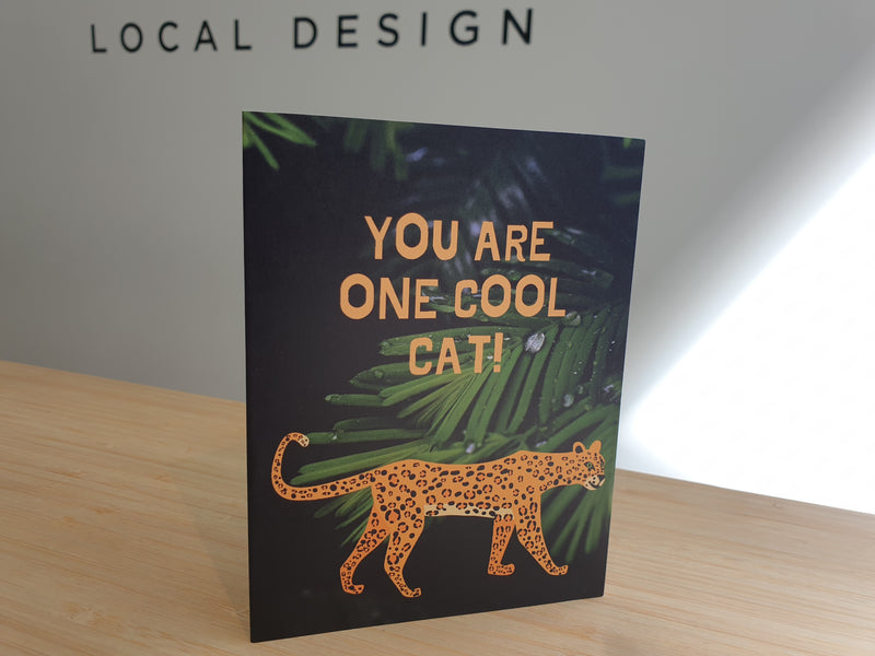 Card - You are one cool cat