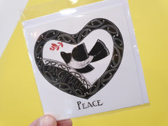 Card - Mini size Peace