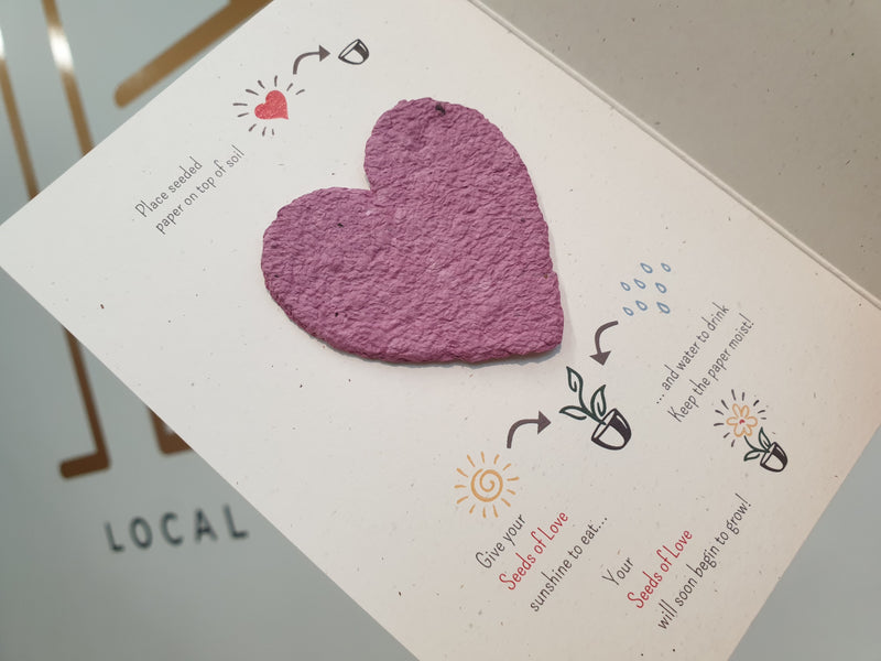 Cards - Giving Seeds of Love