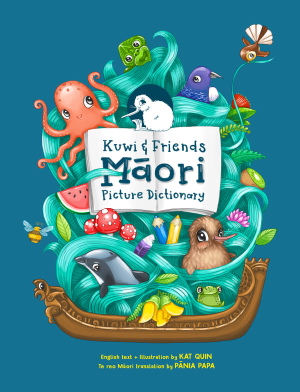 Kuwi and Friends Māori Picture Dictionary
