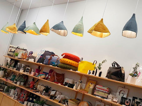 Felt Light Shades - assorted sizes/colours