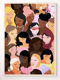 """Women of Colour"" print"