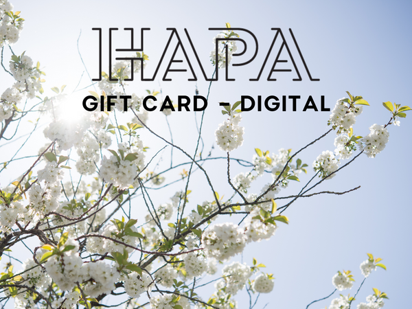 HAPA GIFT CARD (receive instantly by email)