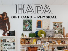 HAPA GIFT CARD (to be posted)