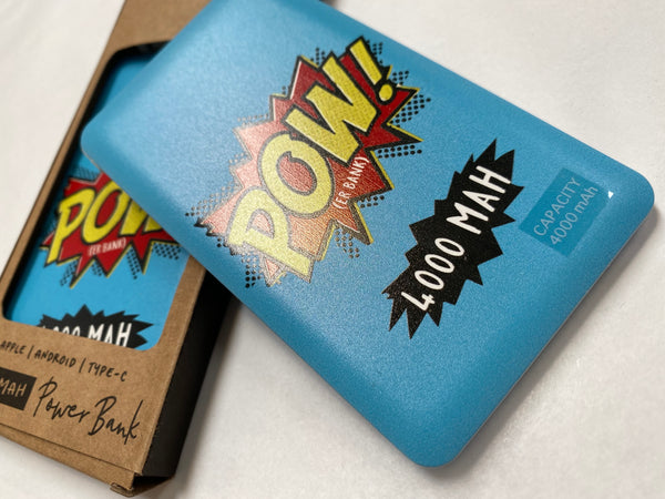 POW Power Bank for Apple/Android/Type-C