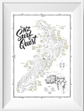 NZ Surf Quest - scratch every dot of every spot where you've surfed!