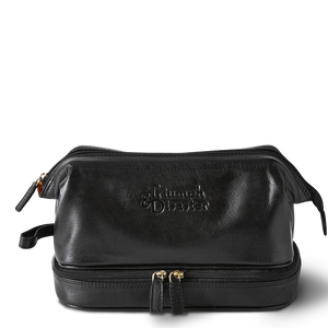 T&D Frank The Dopp Toiletry Bag - Black