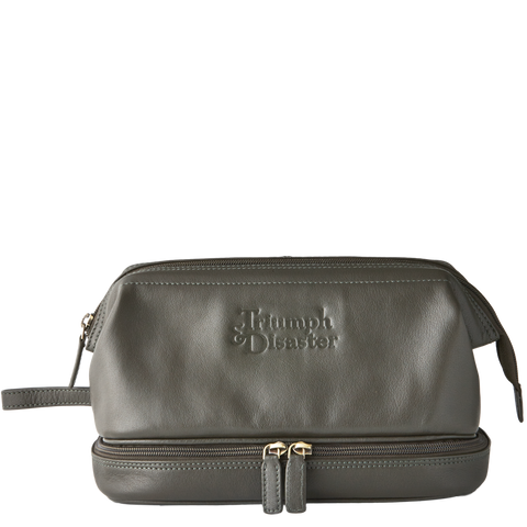 T&D Frank The Dopp Toiletry Bag - Olive
