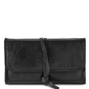 T&D Field Kit Roll Out Toiletry Bag - Black