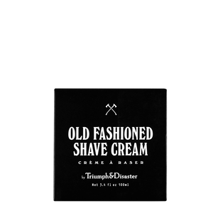 T&D Old Fashioned Shave Cream Jar 100ml
