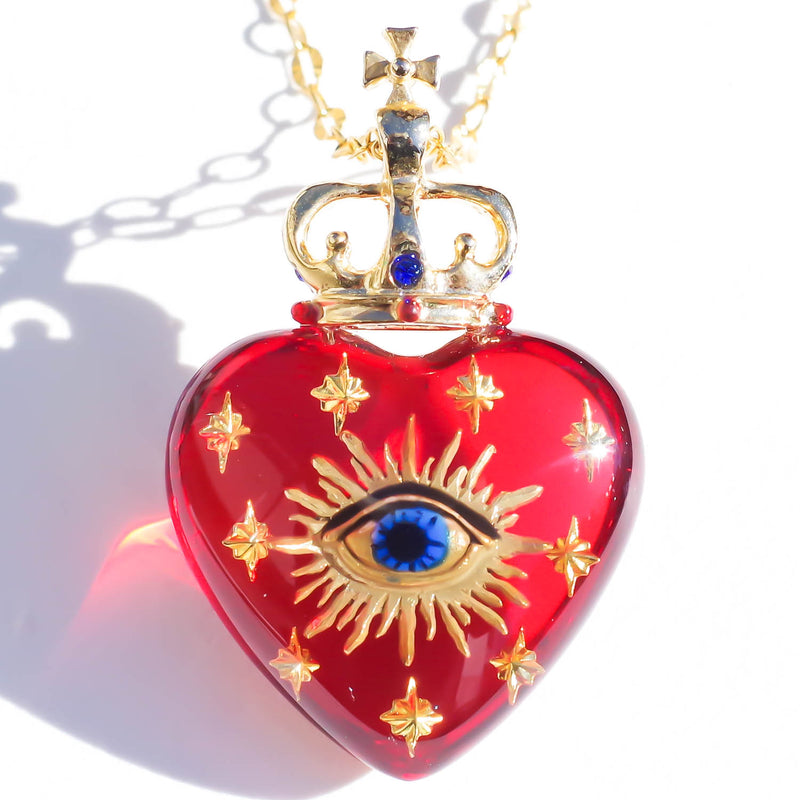 KING HEART NECKLACE
