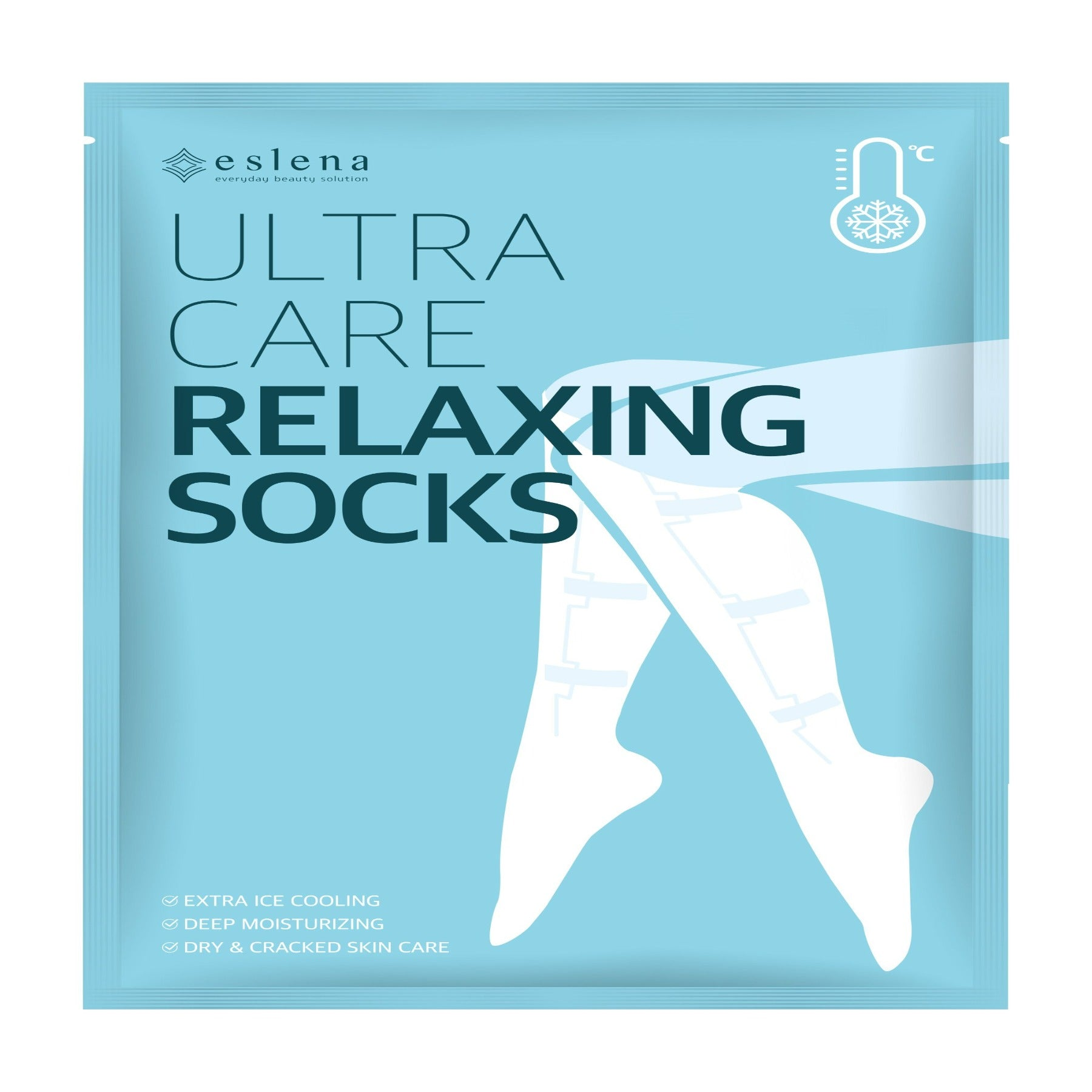 [ESLENA] ULTRA CARE RELAXING SOCKS 1SET (5ea)