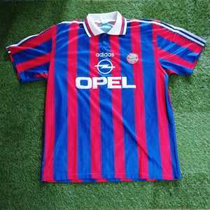 Bayern Munich Home Shirt 1996 1997 XL