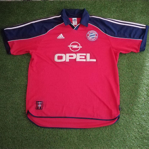 Bayern Munich Home Shirt 1999 2001 XL