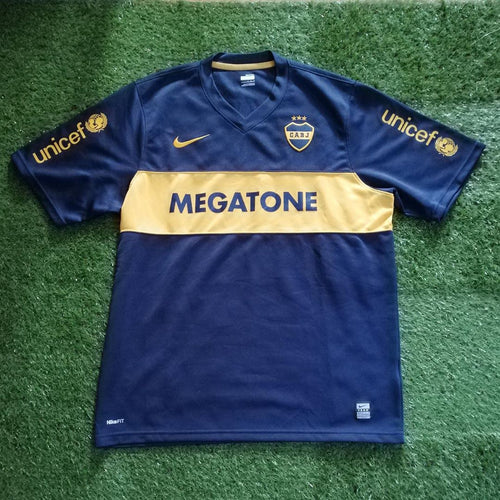 Boca Juniors Home Shirt 2008 2009 L