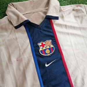 FC Barcelona Away Shirt 2001 2003 L