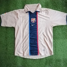 Load image into Gallery viewer, FC Barcelona Away Shirt 2001 2003 L