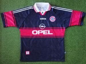 Bayern Munich Home Shirt 1997 1998 XL