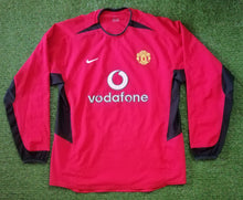 Load image into Gallery viewer, Manchester United Home Shirt 2002 2004 Dual Layer L