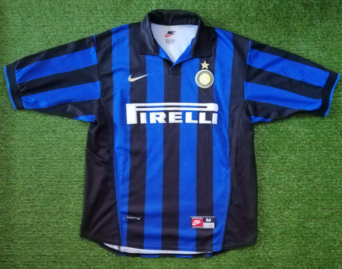 Inter Milan Home Shirt 1998 1999 M