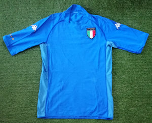 Italy Home Shirt World Cup 2002 L