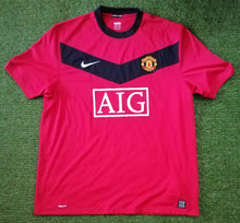 Load image into Gallery viewer, Manchester United Home Shirt 2009 2010 XL