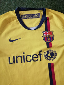 FC Barcelona Away Shirt 2008 2009