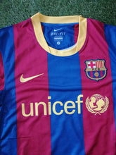 Load image into Gallery viewer, FC Barcelona Home Shirt 2010 2011 S