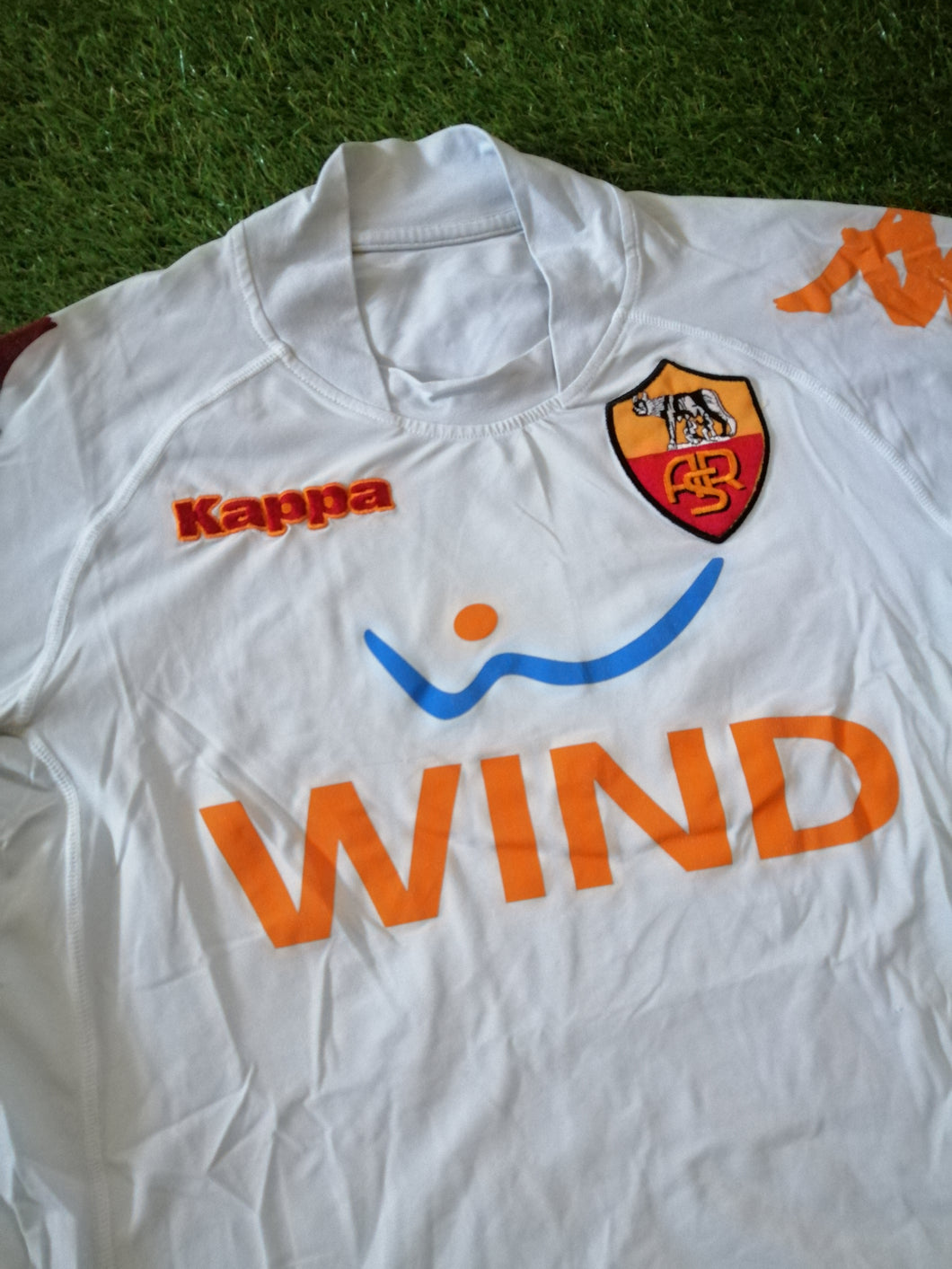 AS Roma Away Shirt 2008 2009 S