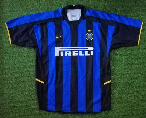 Inter Milan Home Shirt 2002 2003 XL
