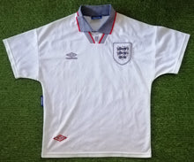 Load image into Gallery viewer, England Home Shirt 1993 1994 M